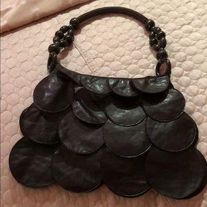 Handbags - Leather zippered bag
